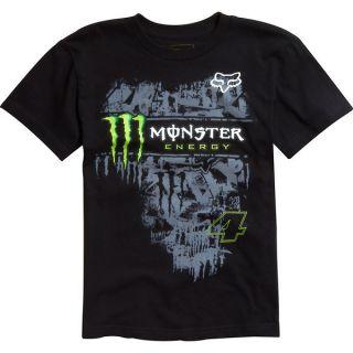 Fox Racing Monster Tinsel Town T Shirt Tee Green Black Carmichael