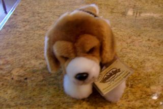 WEBKINZ SIGNATURE BEAGLE BY GANZ STUFFED PLUSH ANIMAL TOY DOG
