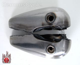Fat Bob 3 5 Gallon Replacement Gas Fuel Tanks for Harley Davidson