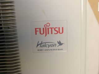 Fujitsu 12RLS Wall Ductless Air Conditioner / Heat Pump 25 SEER 12,000