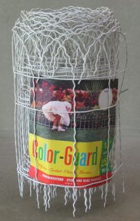 Wire Flower Garden Border Edging Short Fencing Fence 14H 25L