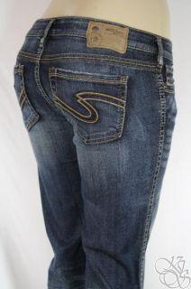 Silver Jeans Co Frances 18 Low Rise Straight Fit Bootcut Leg Medium