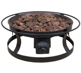 Outdoor Patio Firepit Propane Gas Camping Camp Fire Pit Del Rio Camp