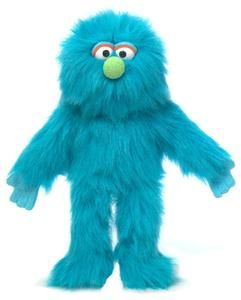 14 pro puppets full body hand puppet blue monster