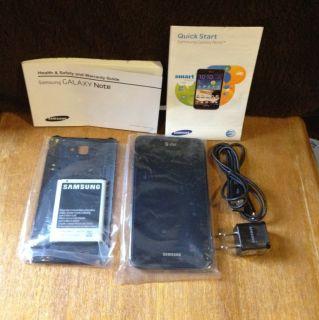 Samsung Galaxy Note LTE SGH I717   16GB   Carbon blue (AT&T