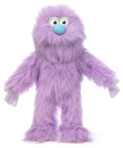 14 pro puppets full body hand puppet purple monster