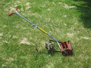 Metal Hand Push Manual Cultivator Tiller Garden Tool