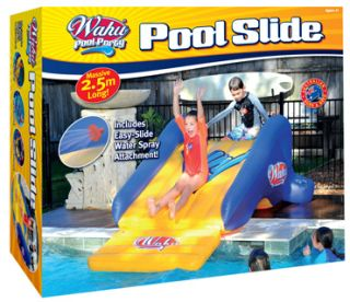NEW* Wahu BMA655 Pool Party Fun Pool Water Slide 2.5m long   spray