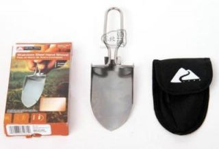 Stainless Steel Folding Hand Shovel Garden Trowel
