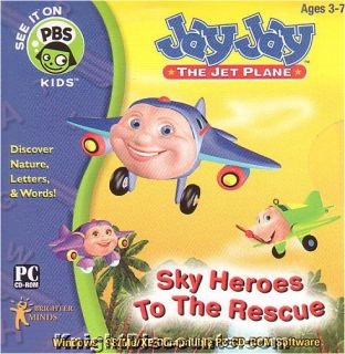Jet Plane SKY HEROES TO THE RESCUE & EARNS HIS WINGS 2x PC & Mac Games