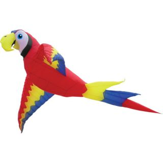 18 Foot Wing Span Mega Macaw Inflatable Parafoil Kite