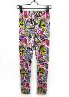 Z901 Fashion Lady Punk Funky Sexy Leggings Stretchy Tight Pencil