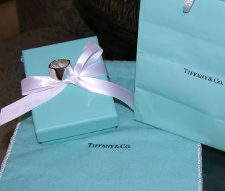 Tiffany Co Frank Gehry Sterling Silver Wide Torque Ring