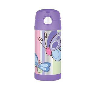Butterfly Thermos Funtainer 12 oz Water or Drink Bottle