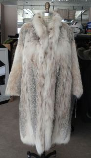 Canadian Lynx Fur Coat Pre Owned