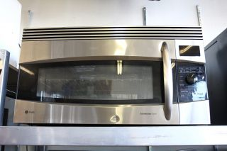 GE Profile 1 7 Cu Ft Convection Microwave Oven JVM1790SK STAINLESS