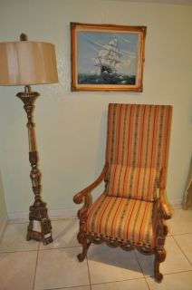 Kings Chair Modern Furnitureland South Hickory N C Excellent Condition