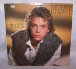 LEIF GARRETT My Movie of You CBS Promo Record