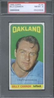 1965 Topps Complete Football Set All PSA Graded Namath Biletnikoff