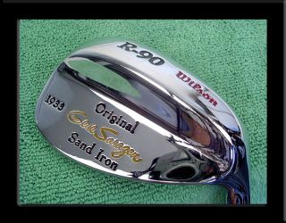 Vintage New re Issue Wilson R 90 Gene Sarazen Original 1933 Sand Iron
