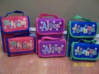 Eco Friendly Lunch Bag Personalized Insulated Expandable Boys