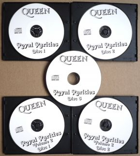 Queen Complete Royal Rarities Collection Very RARE 5 CD s Set RARE 86