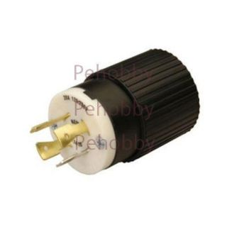 L1420P L14 20P 20 Amp Generator Power Cord Plug for Up to 5 00