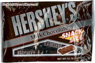 Bag Hersheys Milk Chocolate Original Fun Size Candy