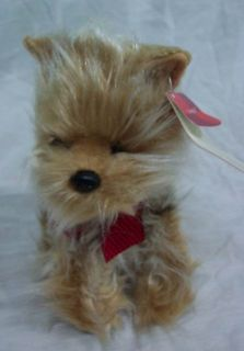 Russ Genghis The Yorkshire Terrier Dog 7 Plush Stuffed Animal Toy New