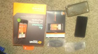 HTC EVO Design 4G 4GB Black Boost Mobile Used Original Box with all
