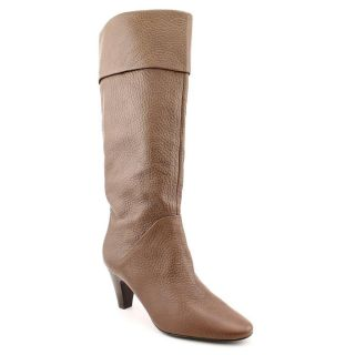 Tahari Gentry Womens Size 10 Brown Leather Fashion Knee High Boots