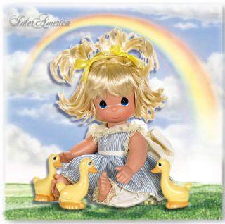 NEW Original Cute 12 Precious Moments Doll, Friends of Feather Last