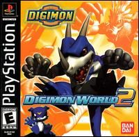 Digimon Digimon World 2 PS1 PS2 Classic Role Play Game