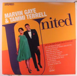 MARVIN GAYE TAMMI TERRELL United soul vinyl LP