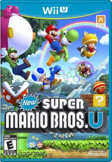 NEW SUPER MARIO BROS. U game for the (Wii U) *BRAND NEW*, SOLD