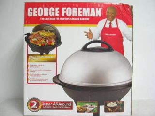 NEW George Foreman GGR50B Large Indoor/Outdoor Electric Grill