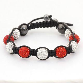 CZ Disco Ball Bracelets Crystal Macrame Friendship Bracelet + Gift Box