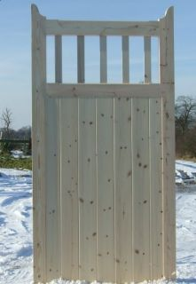 Wooden Timber Garden Gate Side Gate Entrance Gate Outstanding Quality