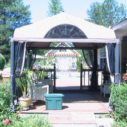 Lowes 10 x 12 Arch Window Gazebo Replacement Canopy