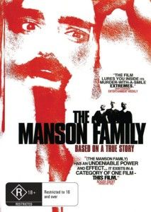The Manson Family Love Generation Gone Wrong New DVD