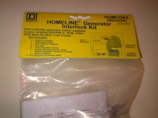 Square D generator Interlock kit HOMCGK2 NEW Free 3 day shipping
