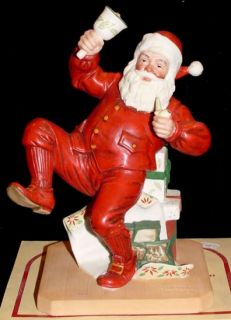 1981 Norman Rockwell Ringing in Good Cheer Figure