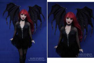 OOAK Gothic Fairy Reservedto Myfriend Brandiedo not Buy
