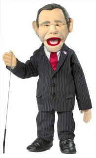 President George w Bush Puppet Ventriloquist Doll