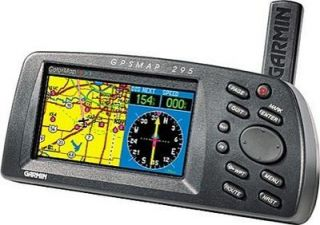Garmin GPS 295 Color Aviation GPSMAP Pilot 296 396 196