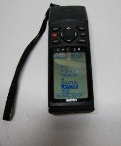 Garmin GPS 38 Personal Navigator   Handheld Hiking & Marine GPS