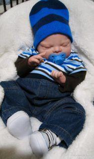 Chubby Reborn Boy Large Newborn Baby Doll Ph Garrison Rog Oard