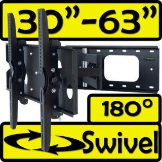 Full Motion ARTICULATING LCD PLASMA TV TILT BRACKET WALL MOUNT 32 to
