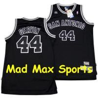 George Gervin Black San Antonio Spurs Hardwood NBA Throwback Swingman