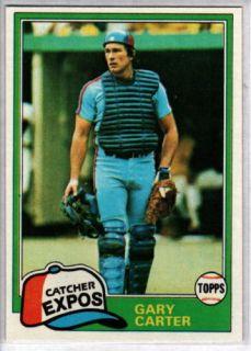 Gary Carter 1981 Topps 660